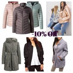 Winter coats and jackets...
