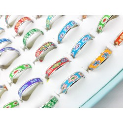 Stainless steel rings - pack