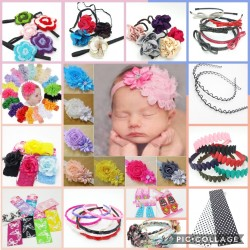 Pallet hair accessories offer