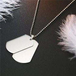 Steel Necklace - Military...