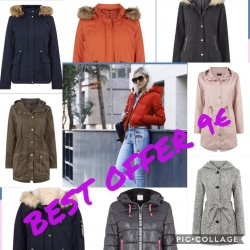 Jackets and coats Assorted lot
