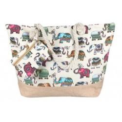 Beach bag - Elephant Indu
