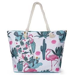 Bolso de playa - Pink Flamingo