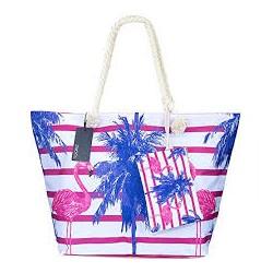 Beach bag - Flamingo Palms