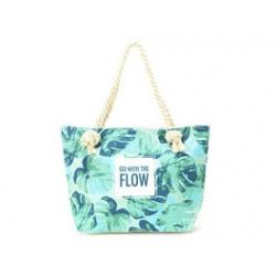Bolso de playa - Flow green