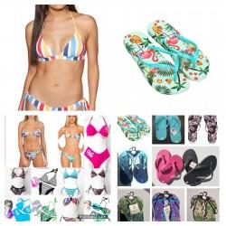 Bikini flip flop estivo mix