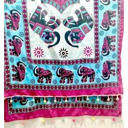 Pareo towel Mandala  blue...