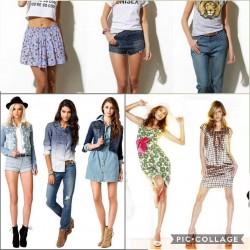 Stock di abiti estivi...