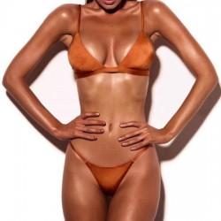 Bikini Lycra Brasil  BRONCE...