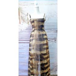 boho silk dress