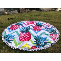 Round towel wrap
