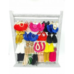 Colors Summer earrings with...