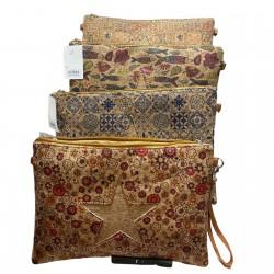 Vintage cork purse bags